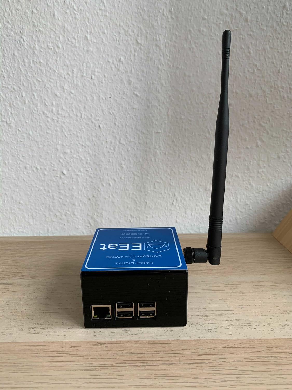 EEatbox avec antenne