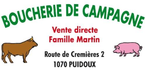 Logo Boucherie de campagne