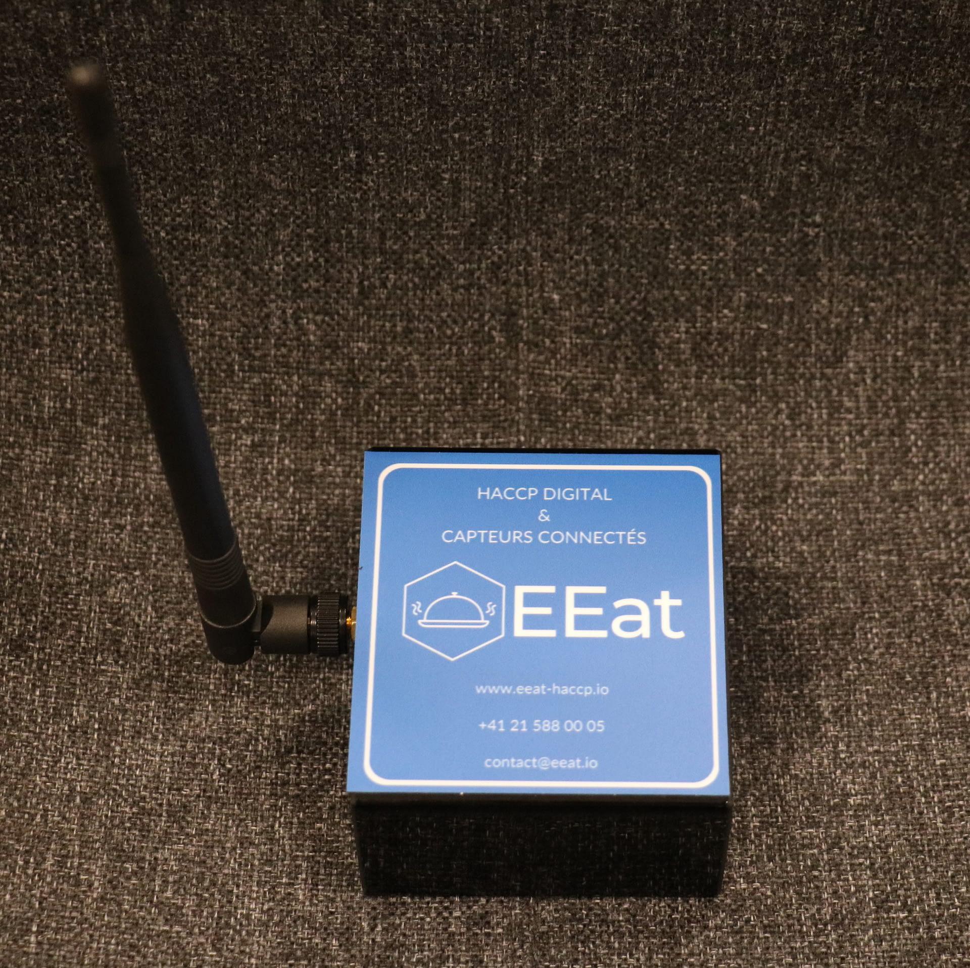 EEatbox passerelle de récolte des données